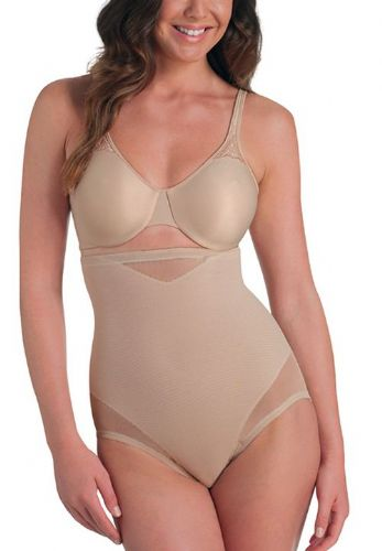 "Miraclesuit ""Sexy Sheer"" Hi-Waist Brief"
